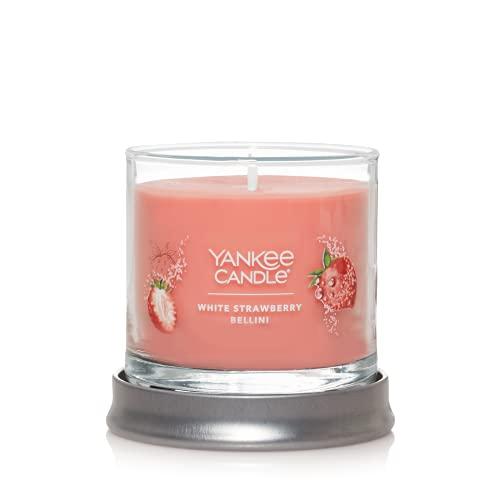 Yankee Candle White Strawberry Bellini Signature Small Tumbler Candle