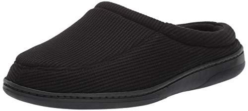 Amazon Essentials SMF0950BPL -  Zapatillas con Espuma Viscoelástica para Hombre, Negro, X-Large (13-14)