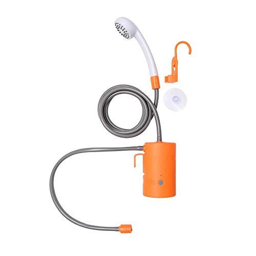 Cobeky Ducha portátil al aire libre impermeable camping ducha USB recargable bomba de ducha para la familia senderismo mochilero viaje playa mascota