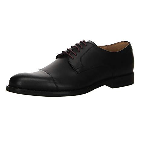 DIGEL Schuh Skipp Leder Schnürer Ziernähte schwarz Größe 40