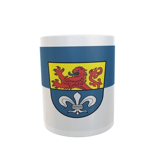U24 Tasse Kaffeebecher Mug Cup Flagge Darmstadt