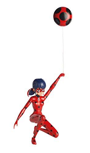 Giochi Preziosi- Miraculous Jump Ladybug Personaggio Deluxe con Funzione, Multicolore, 19 cm, MRA09100