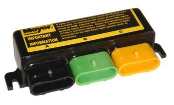 Review Of Professional Parts Warehouse Meyer 07347 Headlight Module (Black, Green, Yellow) Ports OEM