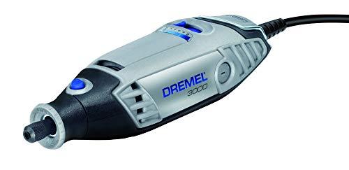 Dremel F0133000JA Multifunktionswerkzeug 3000-15 (15tlg. Zubehör Set, Softbag, 130 Watt) - 3