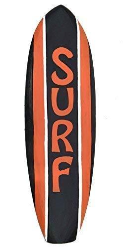 Interlifestyle Aloha Tabla de Surf 60cm Im Tiki Hawaii Decoración Estilo para Colgar Tabla de Surf