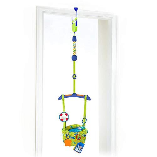 Xiangtat Baby Door Jumper, Sea & Discover Door Jumper Door Clamp Adjustable Strap for Toddler Infant 6-24 Months