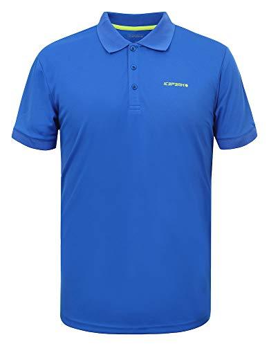 Icepeak Herren Pique Polo Shirt Kyan, königsblau, L, 557630590I