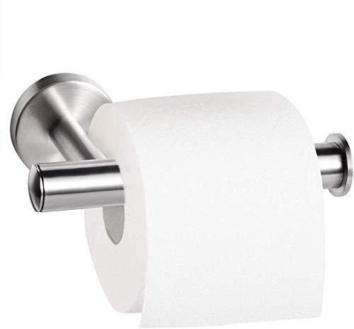 Dailyart WC Klorollenhalter WC Rollenhalter Matt Klopapierhalter Ohne Bohren Toilettenpapierhalter Edelstahl Gebürstet Klopapierrollenhalter Wandmontage kleben statt bohren,für Küche und Bad