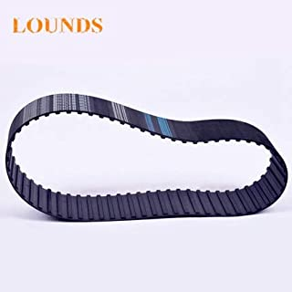 "322L100 Black Rubber Timing Belt 1/"" Wide 86 Teeth 32.25/"" Long"