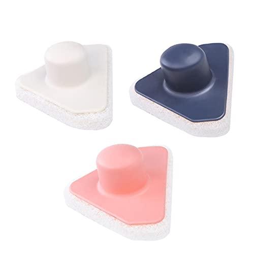 Cozy69 Cepillo de baño de esponja de limpieza de bañera, 3 unidades, cepillo de limpieza de cocina con asa, cepillo de esponja de descontaminación para el hogar, cocina, baño y bañera