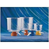 Corning 430512 Sterile Bottle-Top Vacuum Filter, 33 mm Neck Size, 0.45 µm Pore Size, Orange Adapter