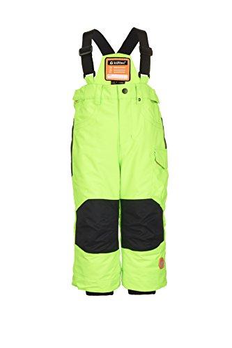 Killtec jongens Panny mini skibroek/functionele broek met dragers en sneeuwvanger, grow up functie - kindermode die meegroeit