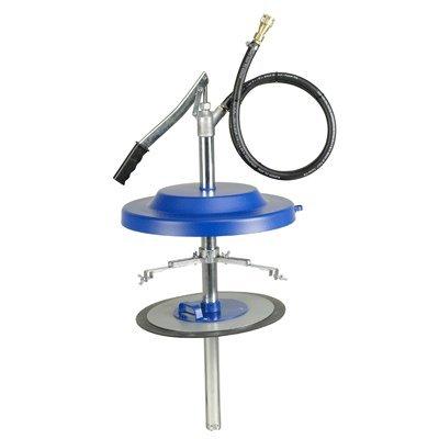 Füllgerät für Zentralschmieranlagen, für 25 kg-Gebinde mit einem Durchmesser von 310-335 mm