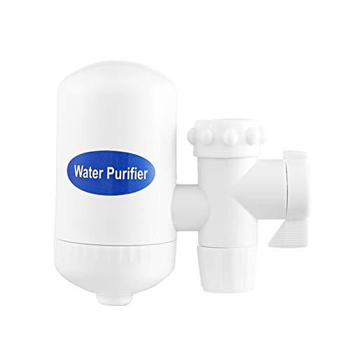 Phoetya Filtro de grifo, filtro de agua de alta calidad, filtro de filtración de agua, filtro de agua, filtro de agua de cocina, filtro de agua para sistemas de filtración de agua potable (blanco)