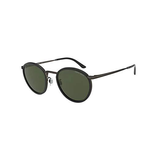 Armani Herren 0AR 101M Sonnenbrille, Negro, 50