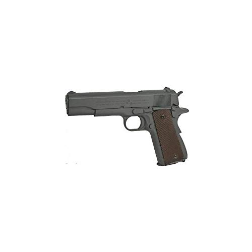 NFL Airsoft Colt 1911 Anniversary Gris Phosphaté Co2 (Swiss Arms 180532 0.5 Joule)