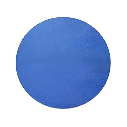 oceansEdge11 8 Ft Solar Pool Cover - Pool Cover Round, Pool Solar Blanket, Reduce Water Evaporation Keep Water Warm, Pool Blanket Covers for Frame Pools, Round Inflatable Pool, Above Ground Pool