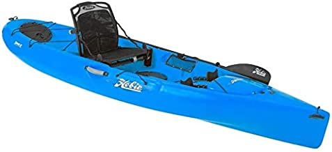 2017 Hobie Quest 13 Sit On Top Paddle Fishing Kayak Carribbean Blue