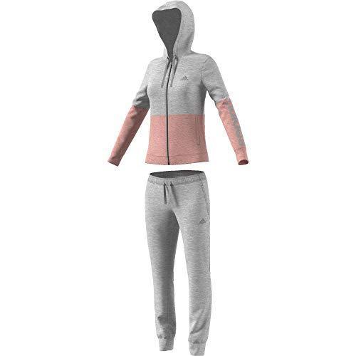 adidas Herren Trainingsanzug WTS Co Marker, Damen XL Grau (brgrin/Rostra)