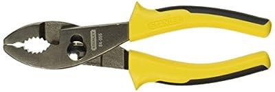 Stanley 84-055 Bi-Material Slip Joint Plier, 6 Inch