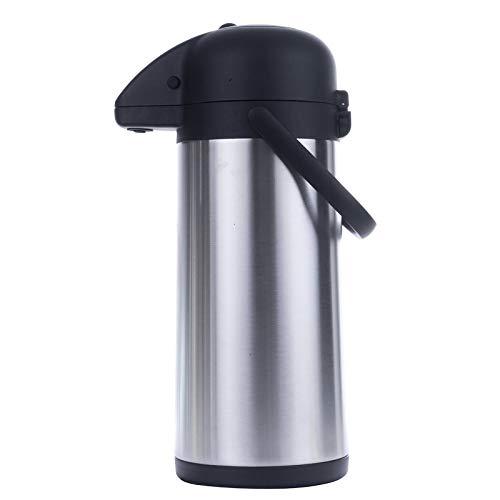 HI Airpot 3,0 L Pumpkanne Isolierkanne Thermo Kanne Kaffeekanne Camping Edelstahl