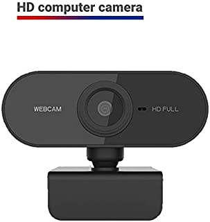 HD 1080p Webcam,Built-in Noise Reduction Microphone Stream Webcam,USB HD Webcam for PC Desktop Laptop Mac Xbox,Be Used for Video Calling, Studying, Conference, Recording, Gaming with Rotatable Clip.