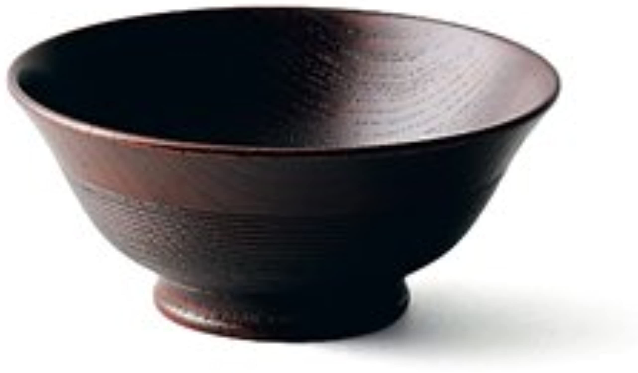 TOKYO MATCHA SELECTION - Oshima   Sensuji Gohanwan 2 Couleur - Japan Lacquareware Rice Bowl from Yahommeaka [Standard ship by Int'l e-packet  with Tracking & Insurance] (DARK marron)