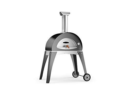 "Pizzaofen / Flammkuchenofen / Holzbackofen ""CIAO"" grau"