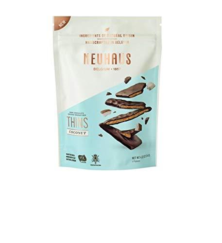 Neuhaus - Biscuits Nougatine con coco bañados con chocolate negro 114 g