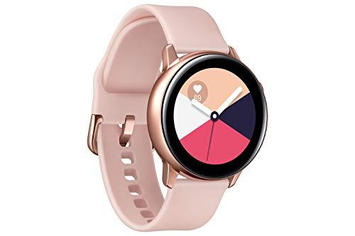 Samsung Galaxy Watch Active, Bluetooth Fitnessarmband Für Android, Fitness-Tracker, 40 mm, wassergeschützt, Gold (Deutche Version)