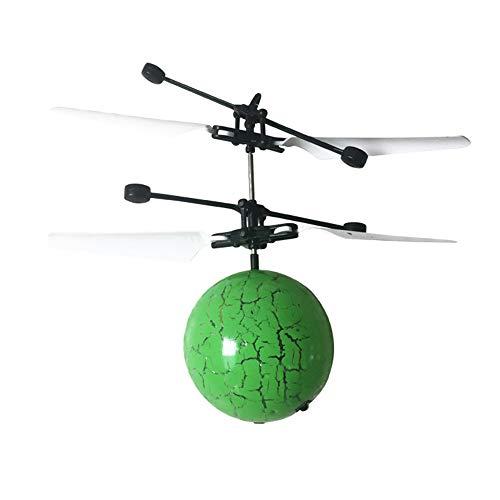 Tabanlly Magic Electric Flying Ball Hubschrauber Infrarot-Sensor Kinder LED-Licht Spielzeug Drohne mit Shinning LED-Leuchten Fun Gadgets für Jungen Mädchen Kinder Jugendliche Erwachsene