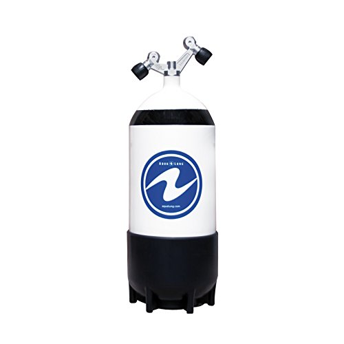 Aqua Lung Tauchflasche 12 Liter kurz mit Tag-Ventil 230 bar