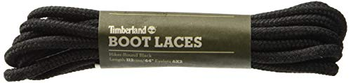 Timberland Hiker-Round 44-inch Unisex-Erwachsene Schnürsenkel, Schwarz (Black), Einheitsgröße