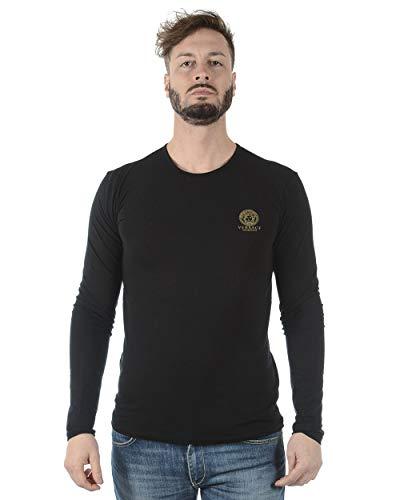 Versace UNTERWÄSCHE - Herren T-Shirt AUU01007AC00059 SCHWARZ 7