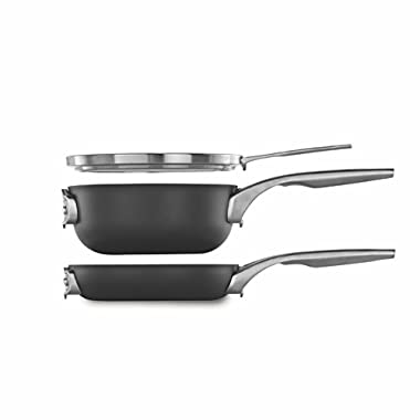 Calphalon Premier Space Saving 8  Nonstick 3 Piece Set