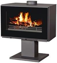 Estufa de leña chimenea de 14 kW moderno Log quemador