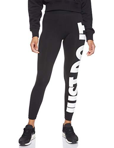 Nike Sportswear Leg-a-See JDI, Leggings Donna, Nero (Black/White 010), 48 (Taglia Produttore: Large)