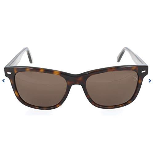 Ermenegildo Zegna Sonnenbrille EZ0028 Gafas de sol, Marrón (Braun), 54.0 para Hombre