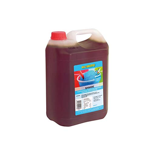 Sirup Slush Konzentrat Slush Ice / Slush AZO FREI Eis Banane 5 Liter Ergibt 30 Liter Slush