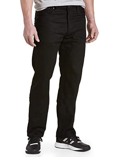 Levi's 501 Big & Tall Polished Black Jeans - 42x34
