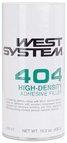 WEST SYSTEM 404-15 High-Density Filler 15.2oz, Off-White