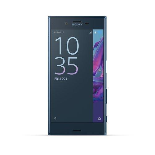 "Sony Xperia XZ Platinum - Telefono movil con pantalla de 5.2"" (Qualcomm Snapdragon 820 64 bits, memoria interna de 32 GB, memoria RAM de 3 GB, camara de 23 MP, 1920x1080, 4G, Android) color azul"