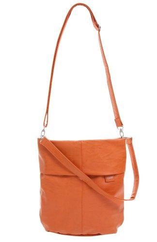 zwei Mademoiselle M12 Umhängetasche 31 cm, orange