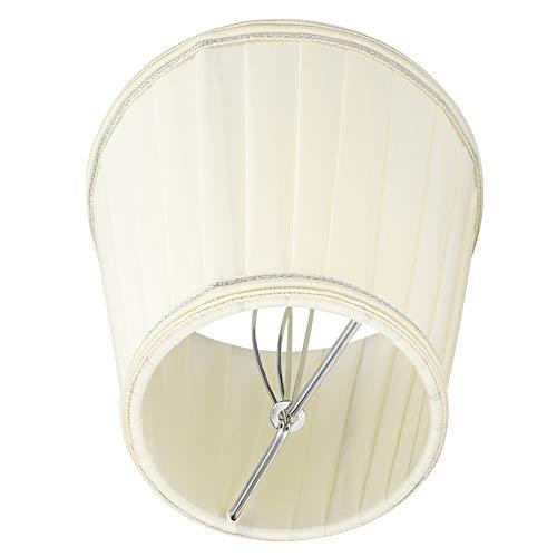 HERCHR Pantallas de lámpara de Tela pequeñas para lámparas de Mesa, Pinza Moderna para lámpara de Pared, Pantalla de lámpara, Pantalla de Barril, 3,5 x 5,1 x 5,5 Pulgadas