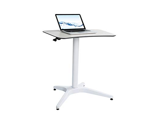 Pneumatic Desk, Adjustable Height Laptop Desk, Ergonomic Design, Sit and Stand Mobile, Excellent Lectern for Classrooms, Offices, and Home!