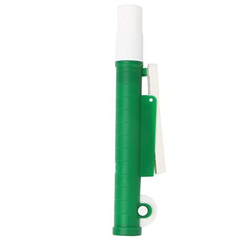 Bomba de pipeta de 10 ml, bomba de pipeta de llenado Bomba de pipeta Manual de llenado de pipeta para pipetas de plástico y vidrio desechables