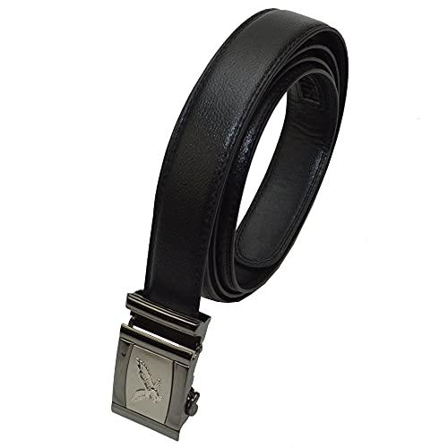 Gürtel mit einem Scorpion Emblem auf der Gürtelschalle Automatik Gürtel Design (130 cm Bundweite)