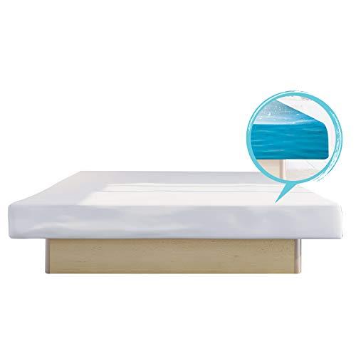bellvita WASSERBETTEN SONDERAKTION inkl. Lieferung und AUFBAUSERVICE durch Fachpersonal, 200 cm x 220 cm (buche)