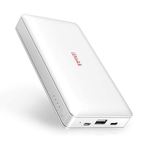 iDiskk MFi Certified 1TB External data storage Hard Drive for iPhone iPad...