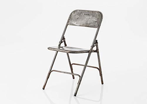 Amadeus - chaises en métal Vintage (Lot de 4)